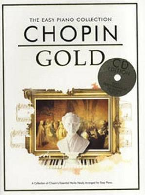 The Easy Piano Collection: Chopin Gold (CD Edition) (Paperback)