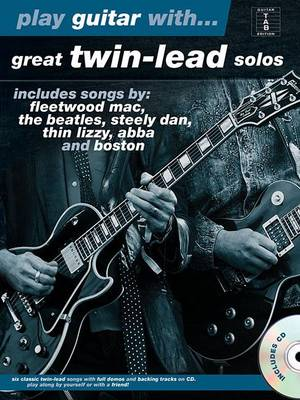 Play Guitar with... Great Twin-Lead Solos (Paperback)