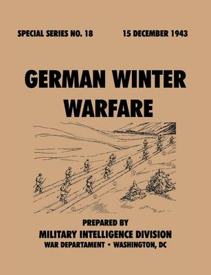 German Winter Warfare (Special Series, No. 18) (Paperback)