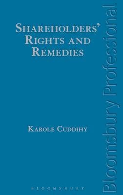 Shareholders' Rights and Remedies (Hardback)