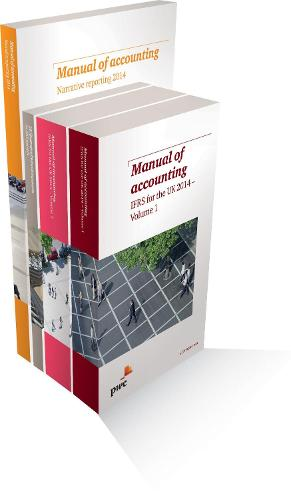 PwC Manual of Accounting IFRS for the UK 2014 PACK