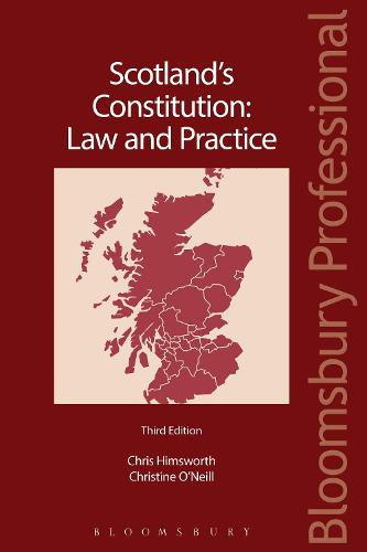 Scotland's Constitution: Law and Practice (Paperback)