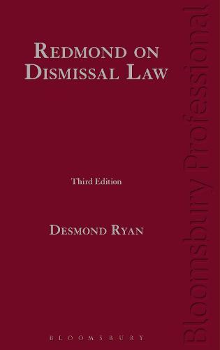 Redmond on Dismissal Law (Hardback)