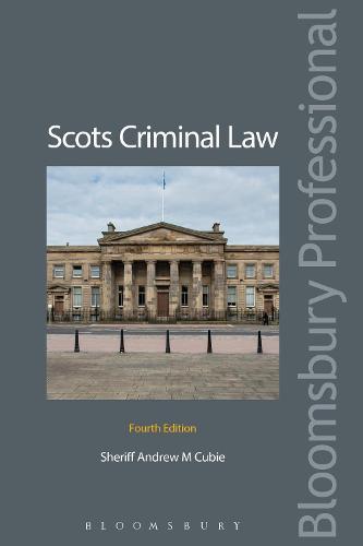 Scots Criminal Law (Paperback)