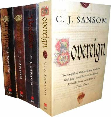 C. J. Sansom Collection: Dissolution, Darkfire, Sovereign, Revelation (Paperback)