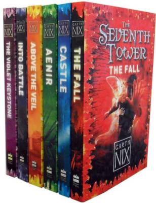 The Seventh Tower Collection: The Fall, Castle, Aenir, Above the Veil, Into Battle, The Violet Keyston - Seventh Tower (Paperback)