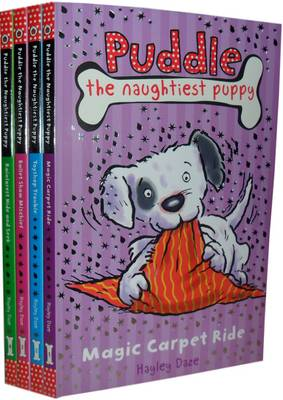 Puddle the Naughtiest Puppy Collection: Magic Carpet Ride, Toyshop Trouble, Ballet Show Mischief, Rainforest Hide and Seek (Paperback)