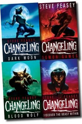 Changeling Collection Set (Demon Games, Blood Wolf, Dark Moon, Changeling) (Paperback)