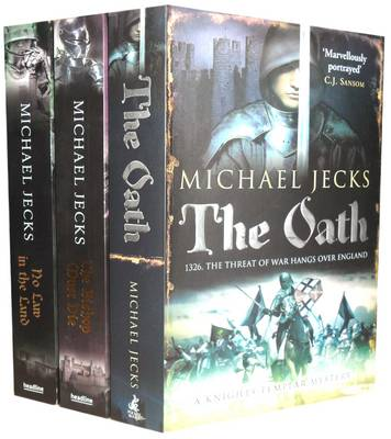 Knights Templar Mysteries Collection: The Oath, the Bishop and No Law in the Land (Paperback)