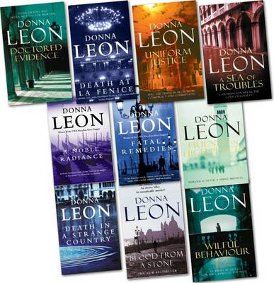 Donna Leon Pack (blood from a Stone, Uniform Justice, a Sea of Troubles, Fatal Remedies, a Noble Radiance, Friends in High Places, Doctored Evidence, Death in a...) (Paperback)