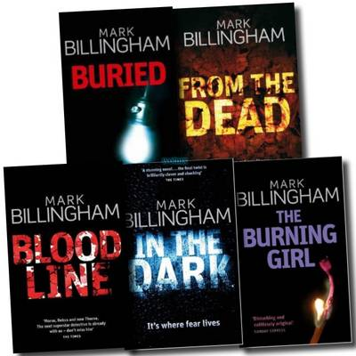 Tom Thorne Novels Series Collection (from the Dead, Buried, the Burning Girl, Blood Line, in the Dark) (Paperback)