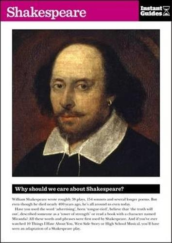 Shakespeare: The Instant Guide (Paperback)