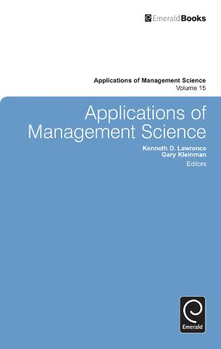 Applications of Management Science - Applications of Management Science 16 (Hardback)