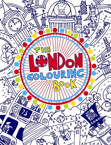 The London Colouring Book (Paperback)