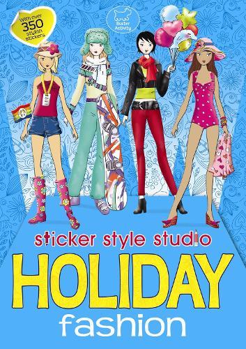 Holiday Fashion: Sticker Style Studio (Paperback)