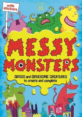 Messy Monsters - Sticker Activity (Paperback)