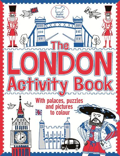The London Activity Book: With palaces, puzzles and pictures to colour (Paperback)