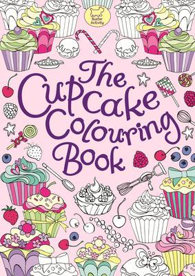 The Cupcake Colouring Book Paperback