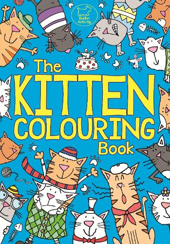 The Kitten Colouring Book (Paperback)
