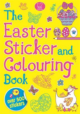 Easter Sticker and Colouring - Sticker Activity (Paperback)