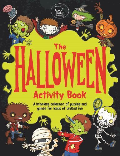 The Halloween Activity Book (Paperback)