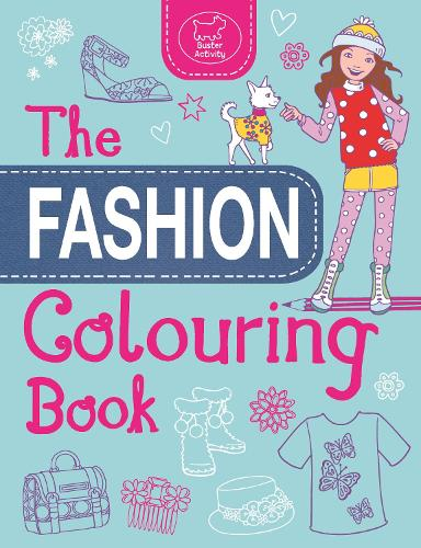The Fashion Colouring Book (Paperback)