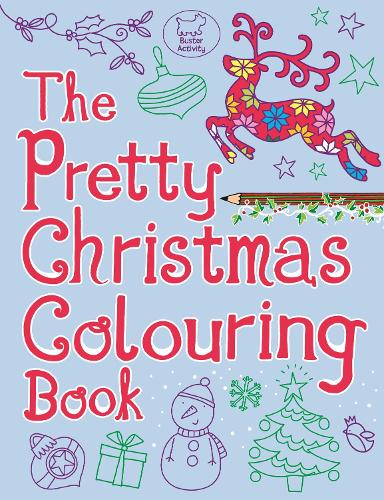 The Pretty Christmas Colouring Book (Paperback)