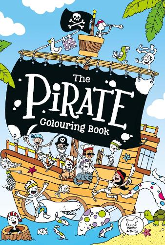 The Pirate Colouring Book (Paperback)