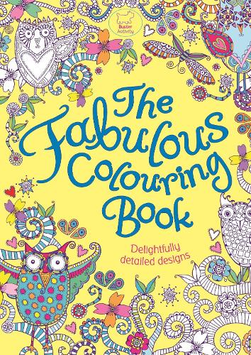 The Fabulous Colouring Book (Paperback)