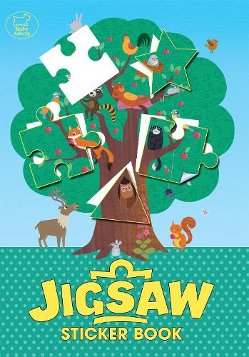The Jigsaw Sticker Book (Paperback)