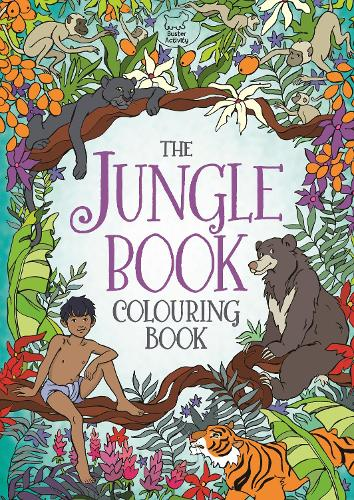 The Jungle Book Colouring Book (Paperback)