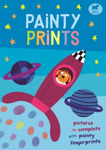 Painty Prints: Pictures to Complete with Painty Fingerprints (Paperback)