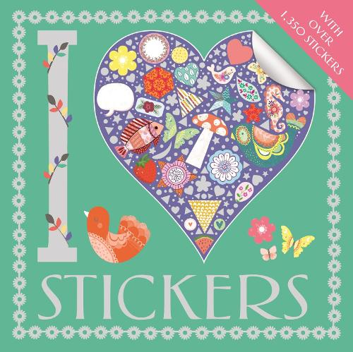 I Heart Stickers (Paperback)
