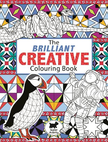 The Brilliant Creative Colouring Book (Paperback)