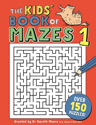 The Kids' Book of Mazes 1 - Buster Puzzle Books (Paperback)