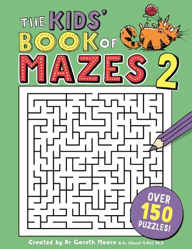 The Kids' Book of Mazes 2 - Buster Puzzle Books (Paperback)