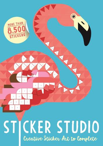 Sticker Studio: Creative Sticker Art to Complete (Paperback)