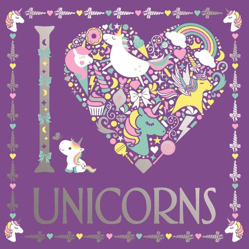 I Heart Unicorns - I Heart Colouring Books (Paperback)