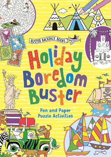 Holiday Boredom Buster - Buster Backpack Books (Paperback)