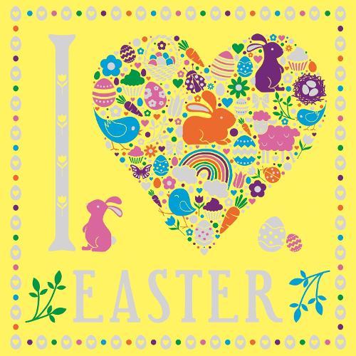 I Heart Easter - I Heart Colouring Books (Paperback)