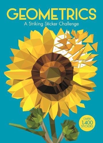 Geometrics: A Striking Sticker Challenge (Paperback)