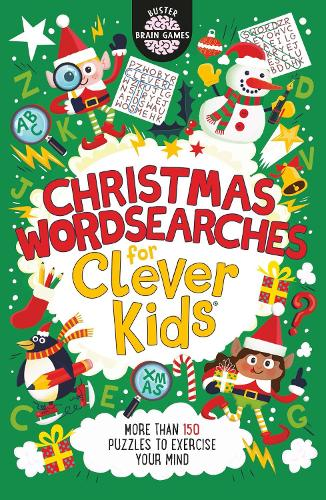 Christmas Wordsearches for Clever Kids (R) - Buster Brain Games (Paperback)