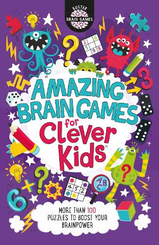 Amazing Brain Games for Clever Kids (Paperback)