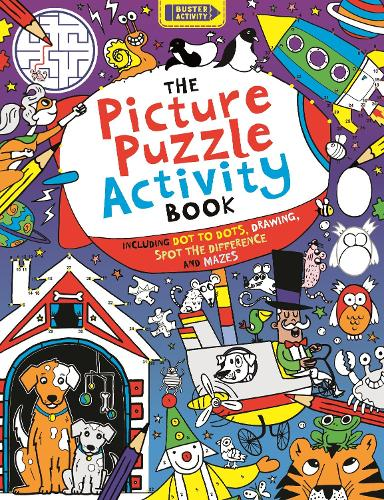 The Picture Puzzle Activity Book - Buster Puzzle Activity (Paperback)