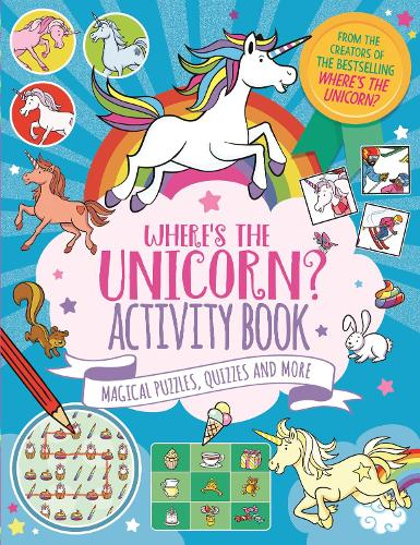 Where's the Unicorn? Activity Book: Magical Puzzles, Quizzes and More - Search and Find Activity (Paperback)
