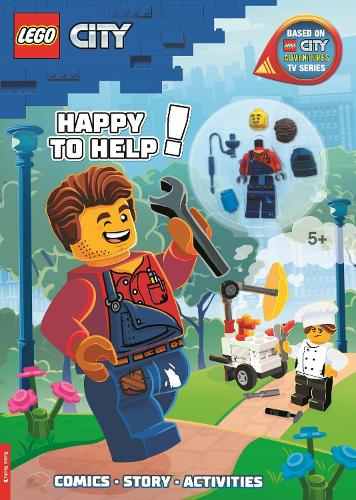 LEGO (R) City: Happy to Help! Activity Book (with Harl Hubbs minifigure) (Paperback)