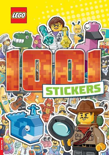 LEGO (R) Iconic: 1,001 Stickers (Paperback)