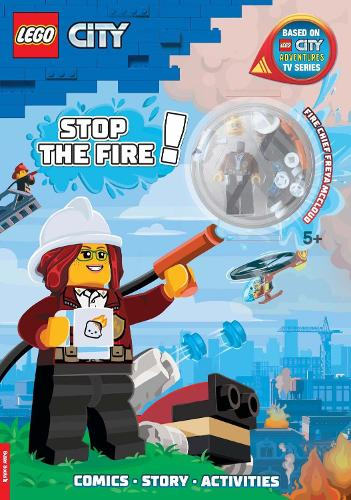 LEGO (R) City: Stop the Fire!: Activity Book with Minifigure (Paperback)