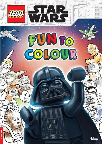 LEGO (R) Star Wars (TM): Fun to Colour (Paperback)