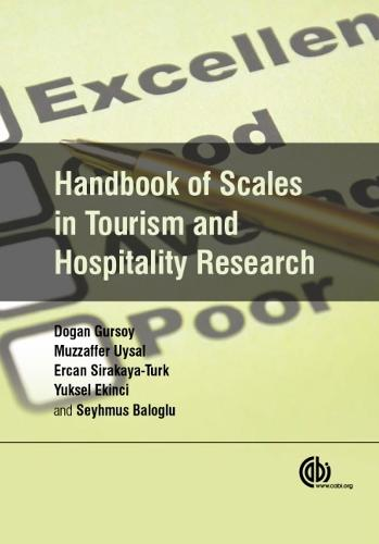 Handbook of Scales in Tourism and Hospitality Research (Hardback)